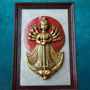 3D Goddess Durga Mural- Home decor