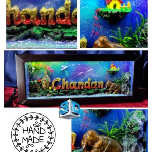 Customized 3D Led Name Box- Unique Gift