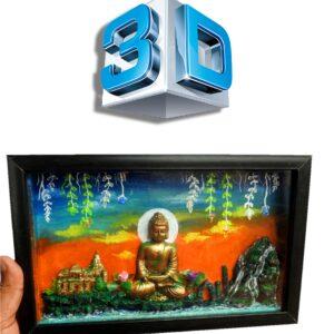 3D Lord Buddha Box- Gift/Decor
