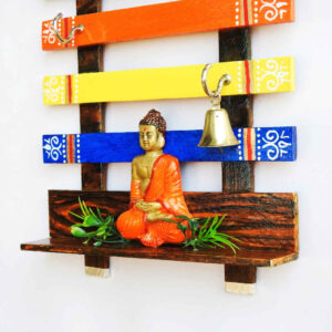 Wooden Buddha Key Holder (Home-Decor)