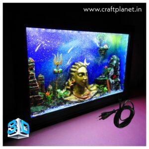 Adiyogi 3D LED Box- Home decor