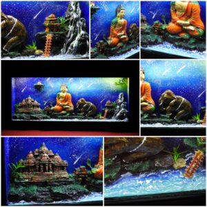 3D Led Box, Lord Buddha – Home decor