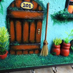 3D Miniature Home setup – Key holder