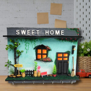 3D Miniature Sweet Home Key holder