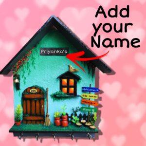 Customized Miniature Home setup – Key holder